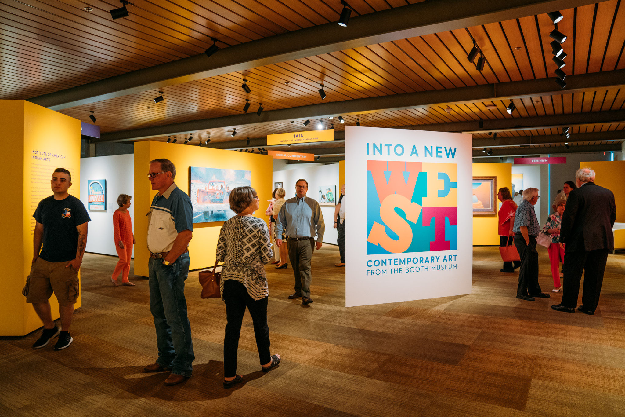 Art displayed at the Briscoe Western Art Museum