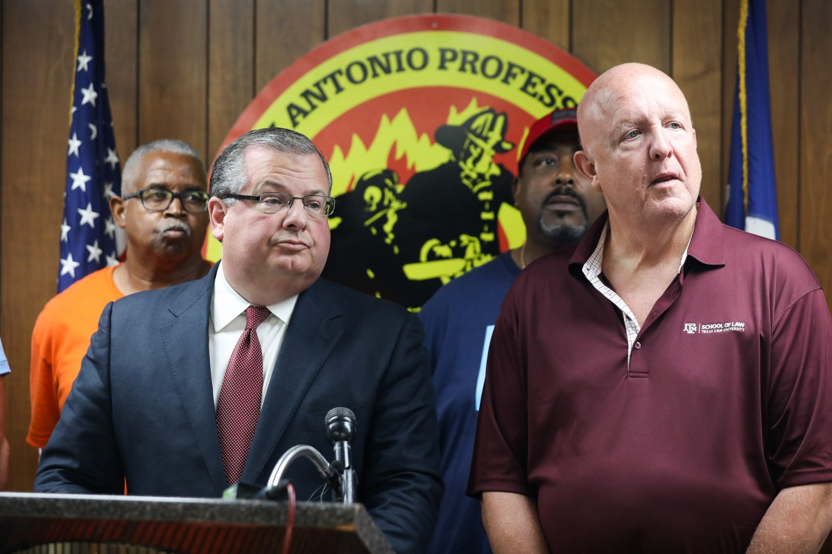 Chief Negotiator representing the San Antonio Professional Fire Fighters Association Ricky Poole announces that the union will go into binding arbitration with the City utilizing a charter amendment that passed in 2018.
