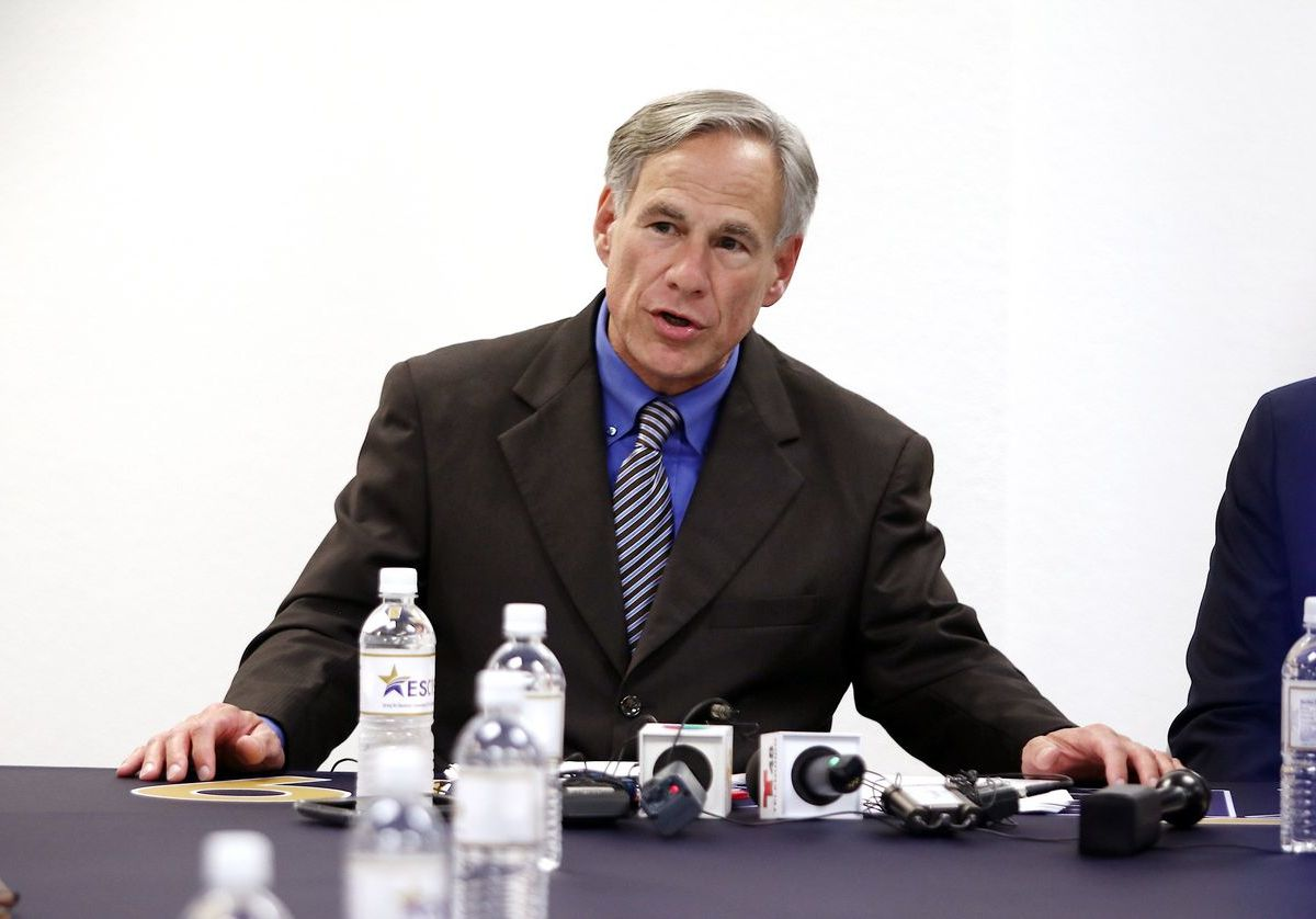 Gov. Greg Abbott announced on Wednesday that most businesses are able to open at 50 percent capacity effective immediately.