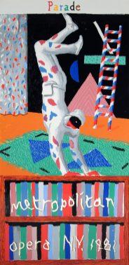 Parade, David Hockney, 1981