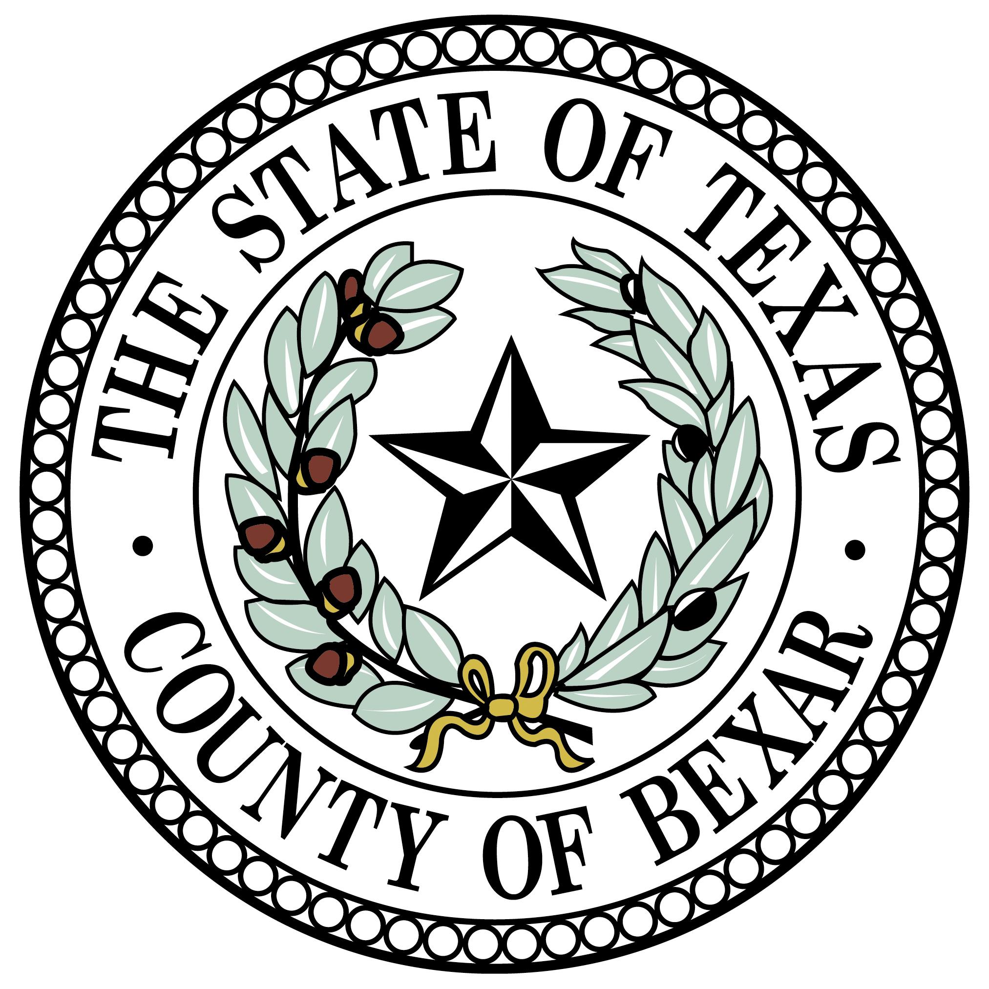 Bexar County Seal Color JPG   San Antonio Report