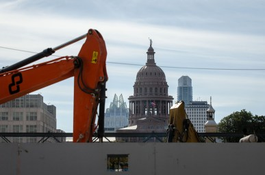 The Texas State Capitol in Austin.