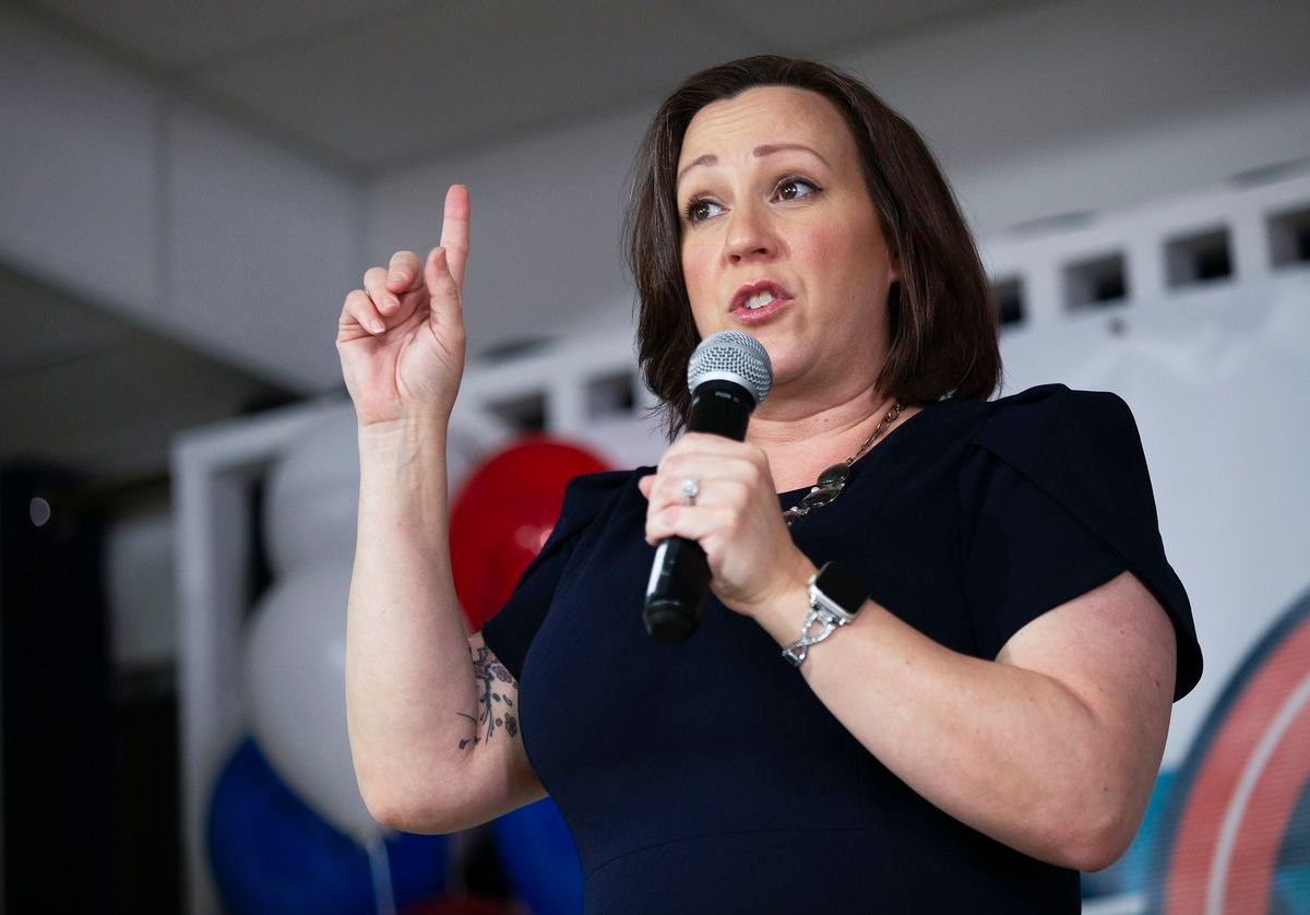 MJ Hegar held a slim advantage over her opponent in the Democratic primary runoff for U.S. Senate.