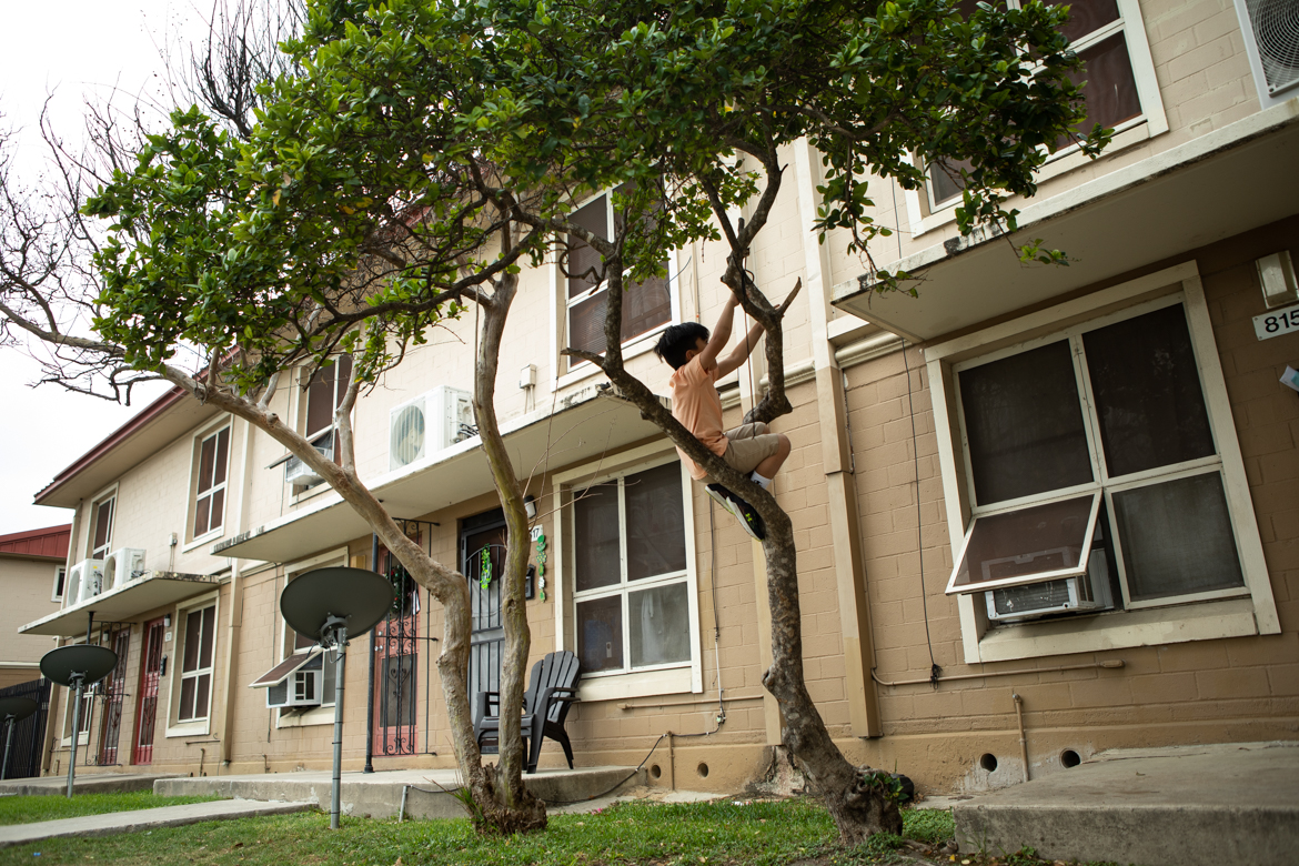 """The National Trust for Historic Preservation put the Alazán-Apache Courts, a public housing project located on the West Side and the oldest in the nation, on its annual list of """"America's 11 Most Endangered Historic Places."""""""