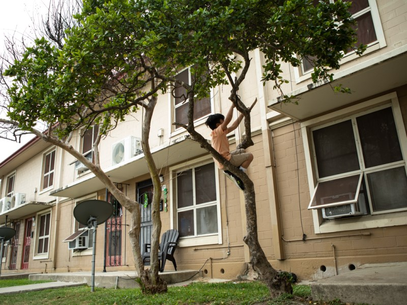 "The National Trust for Historic Preservation put the Alazán-Apache Courts, a public housing project located on the West Side and the oldest in the nation, on its annual list of ""America's 11 Most Endangered Historic Places."""