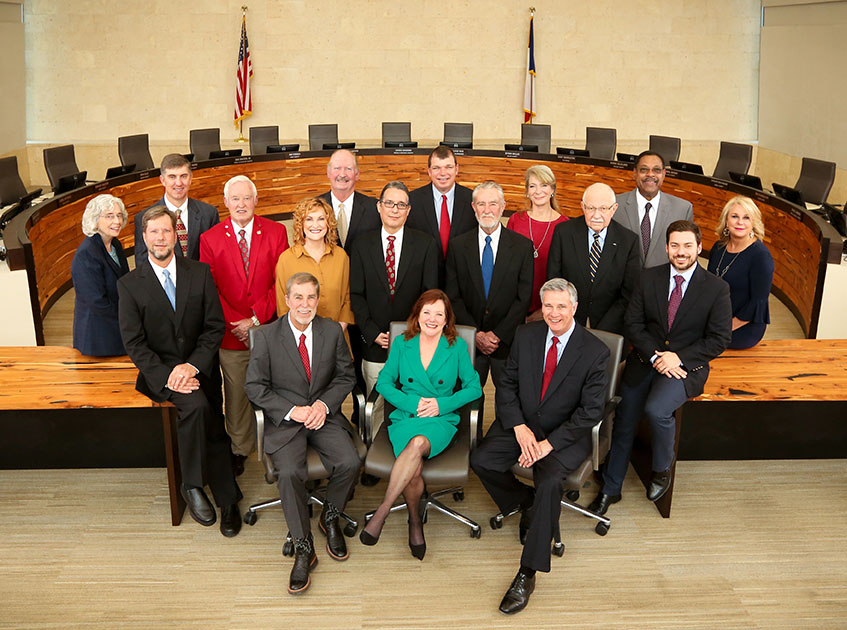 The Edwards Aquifer Authority board of directors