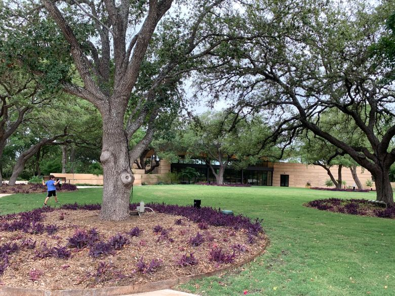 Plans to open the San Antonio Botanical Garden's new Betty Kelso Center and Greehey Lawn were postponed in March when the garden shut down due to the coronavirus pandemic.