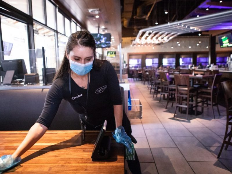 Restaurants are searching new workers as the pandemic winds down.