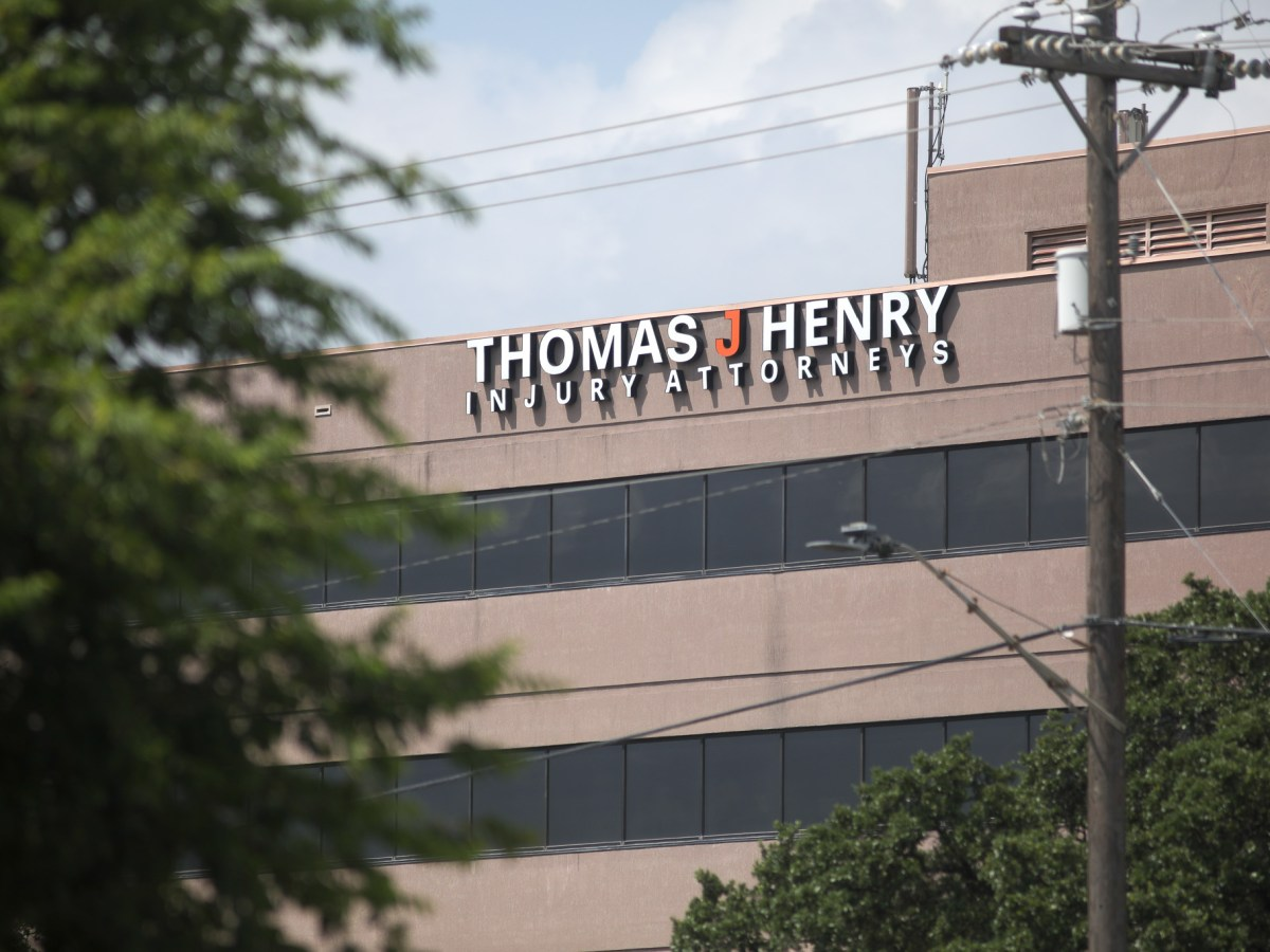 Thomas J. Henry personal injury law firm is among the businesses that received federal money from the Small Business Administration.