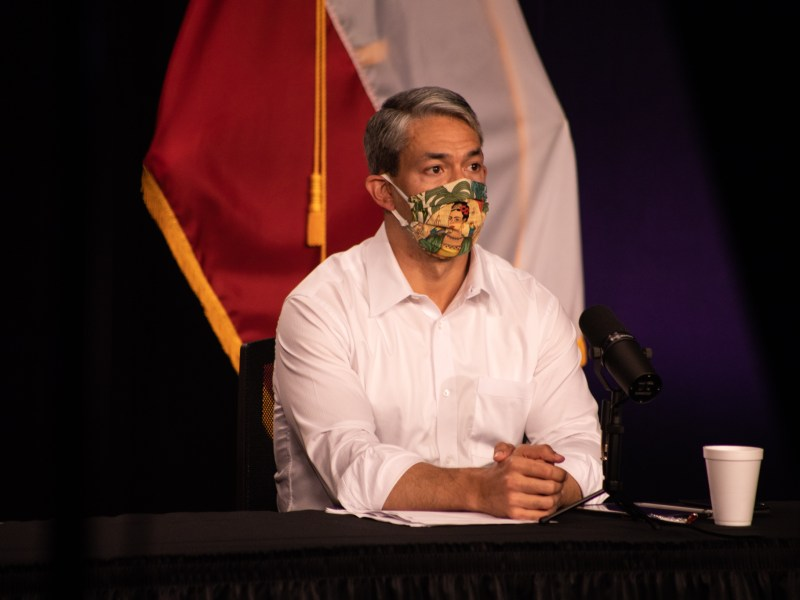 Mayor Ron Nirenberg is urging residents not to host Super Bowl parties lest they bring the coronavirus into their home.