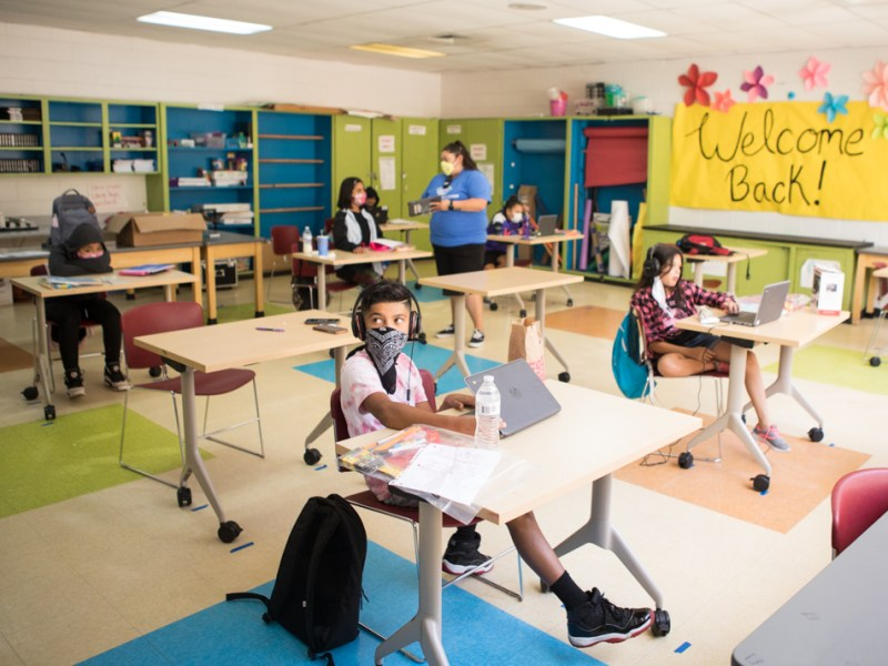 Boys and Girls Clubs of San Antonio's Calderon Clubhouse opened on Aug. 17 for students in need of supervision and academic support throughout the day.