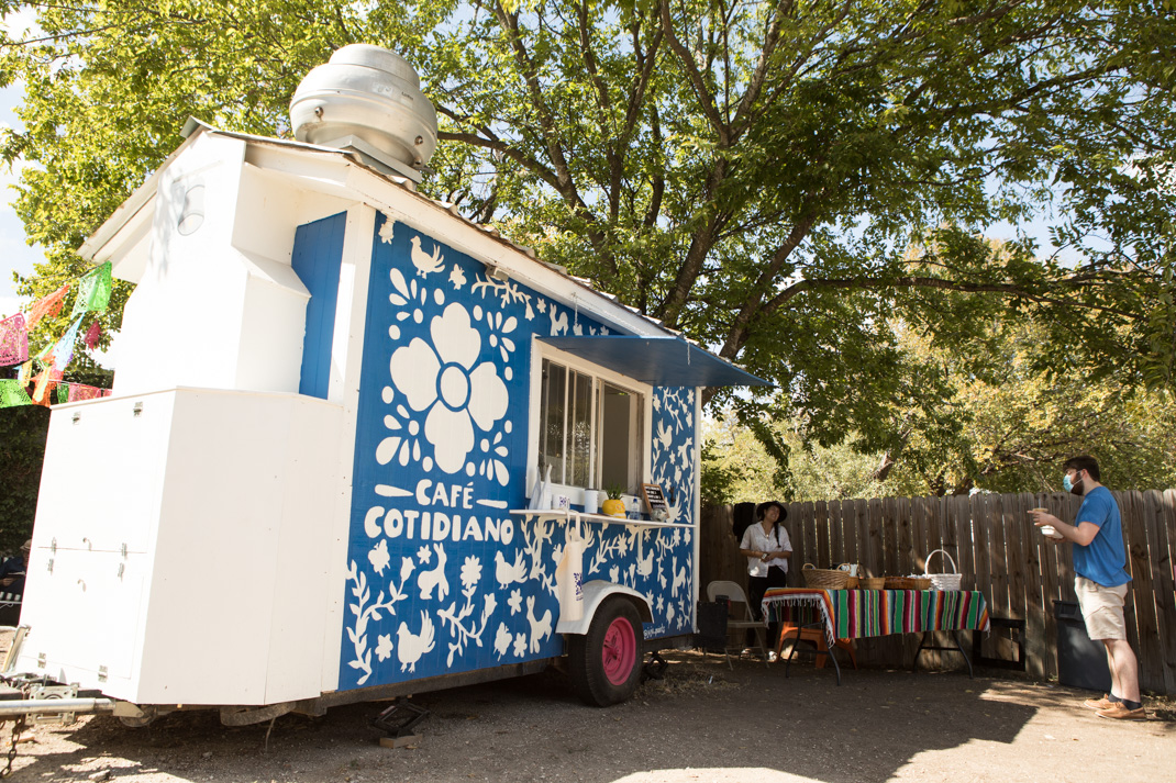 The San Antonio Mennonite Church is making an effort to support asylum-seekers through their new startup coffee truck, Café Cotidiano.