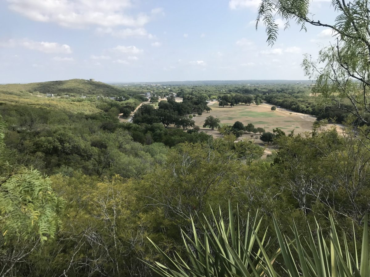 A view of Castroville Regional Park from the south along the Determination Trail.