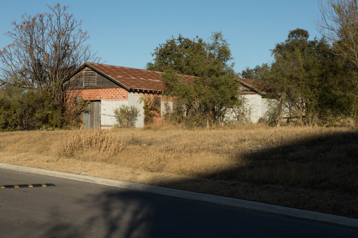 Historically significant Bacon Steubing Farm on DeZavala Rd. Photos taken on December 24, 2020.