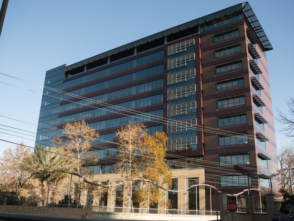 CPS Energy headquarters is located at 500 McCullough Ave. Photos taken on January 25, 2021.