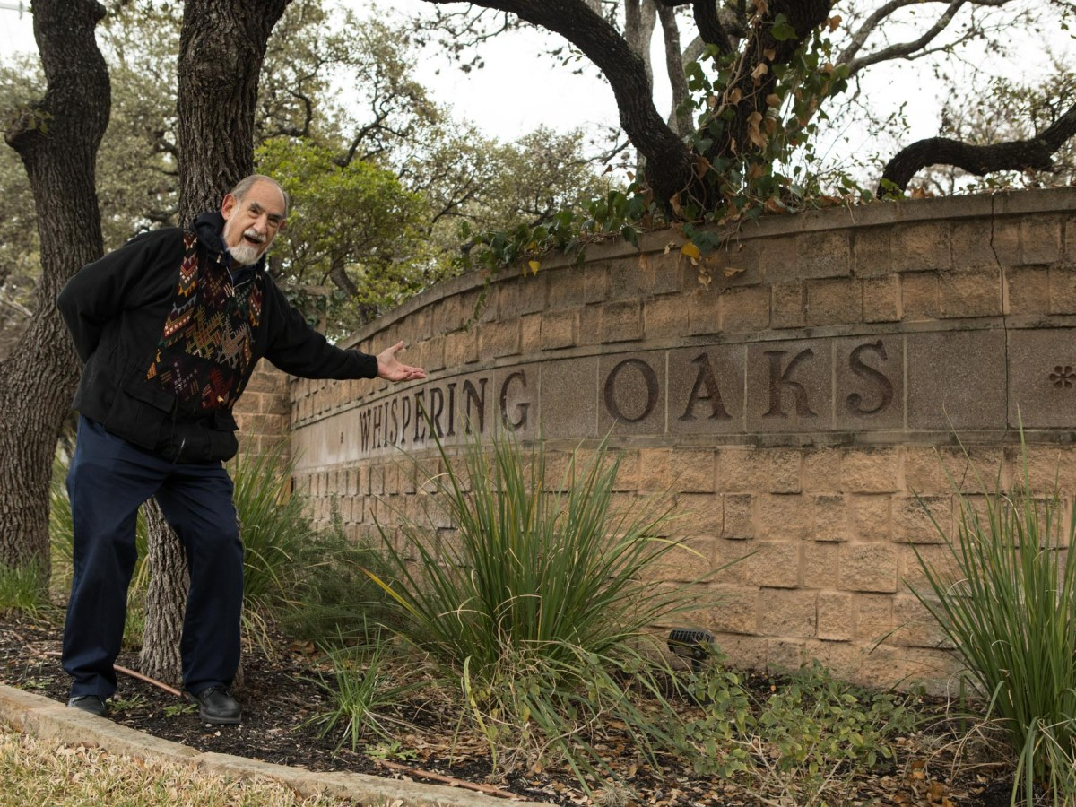 Where I Live: Whispering Oaks by Richard Pressman on February 13, 2021.