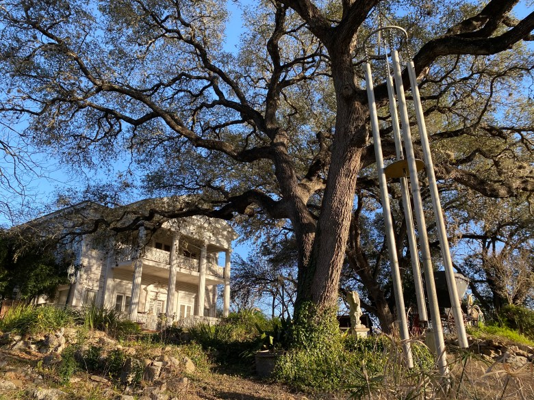 The grounds of Victoria's Black Swan Inn along Holbrook Road on San Antonio's East Side.