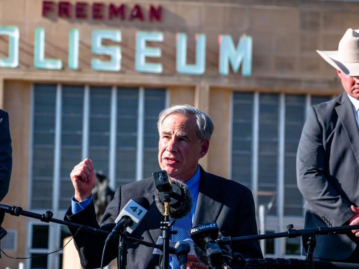 Governor Greg Abbott lambasts the Biden Administration for creating this child migrant housing facility in the Freeman Coliseum, where Abbott claims there have been reports of sexual assault. The Governor implored Biden to close this facility and move the children to another location.