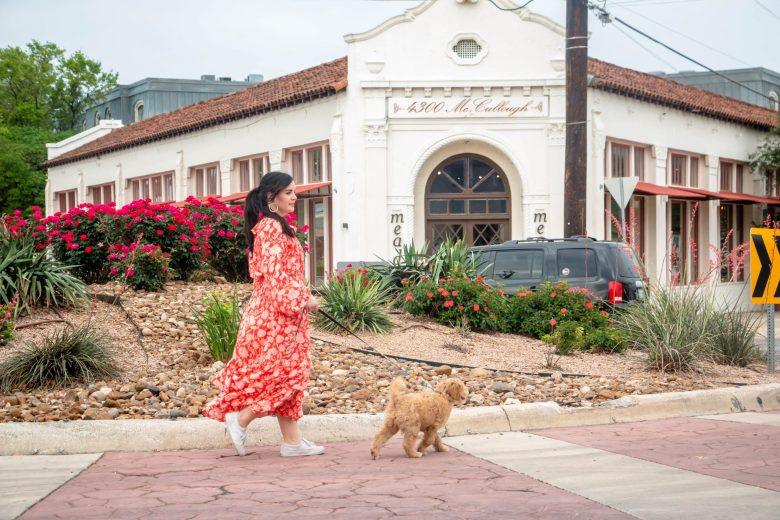 In the five months that Allysse Shank-Rivas has been living in Olmos Park, she enjoys frequenting the shops by the roundabout on E Olmos and McCullough Avenue.