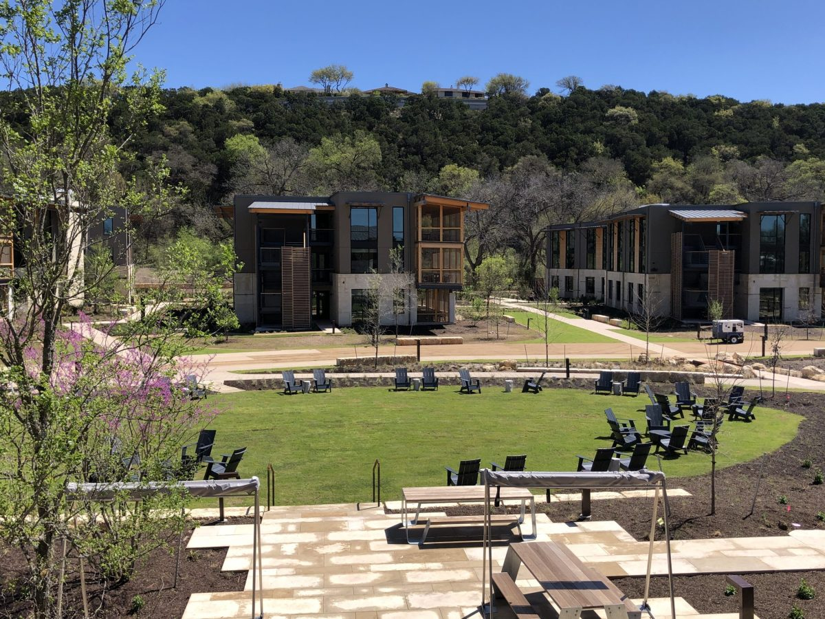 The Holdsworth Center in Austin is a new learning center for public school leaders. When their doors open in June six public school districts will join their five-year advanced learning program.