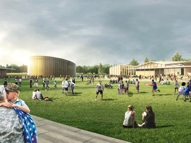 Large open spaces and parks for outdoor recreation are included in design renderings for Valor Club.