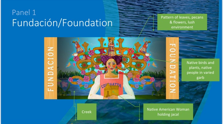 Panel 1 - Fundación / Foundation