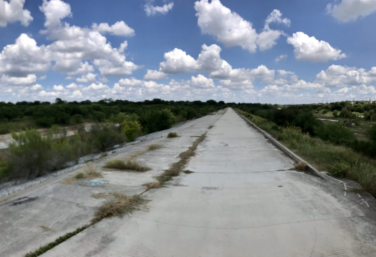 A concrete ridge separates Culebra and Helotes creeks on the Far West Side.