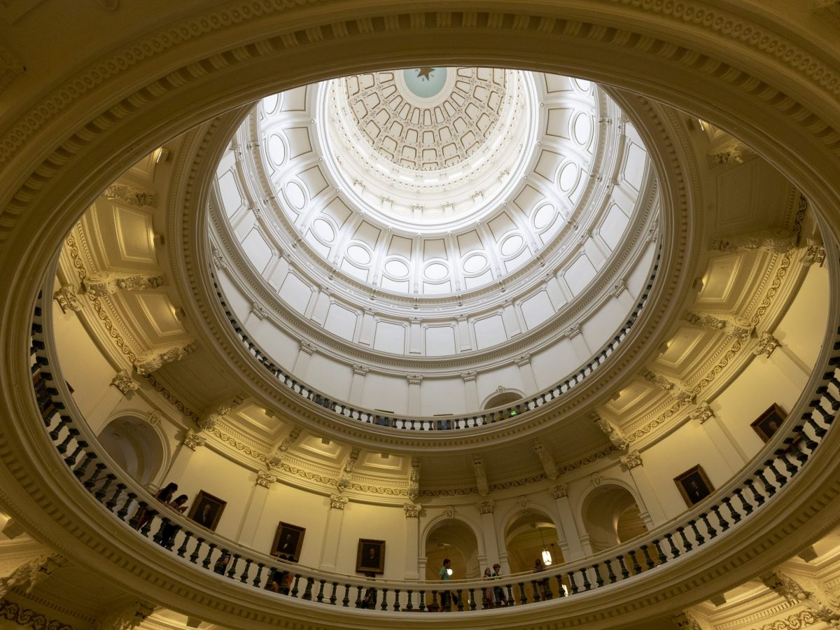The Texas State Capital in Austin