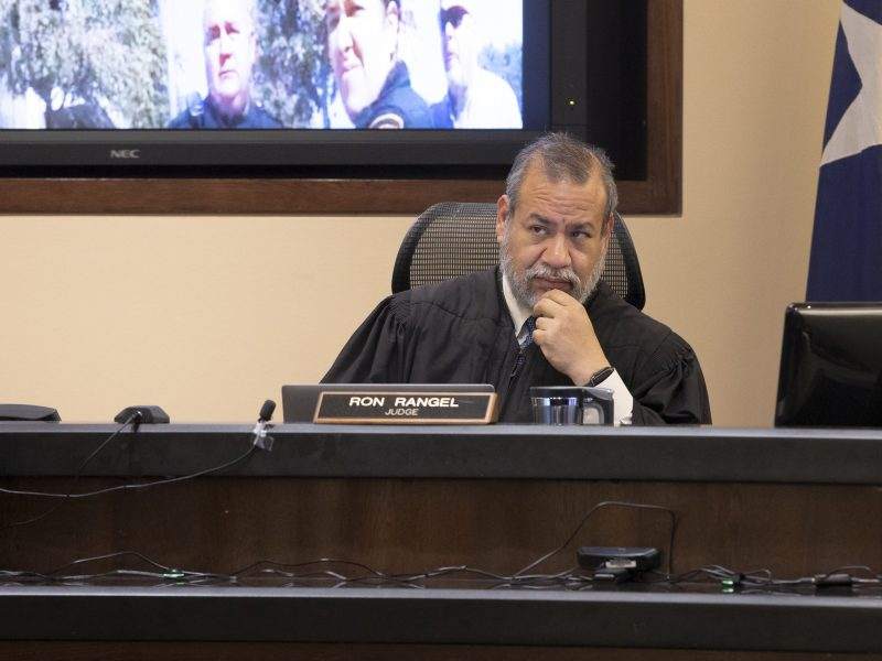 Judge Ron Rangel of the 379th District Court is suspending in-person jury trials in all Bexar County courts due to a spike in COVID-19 cases.