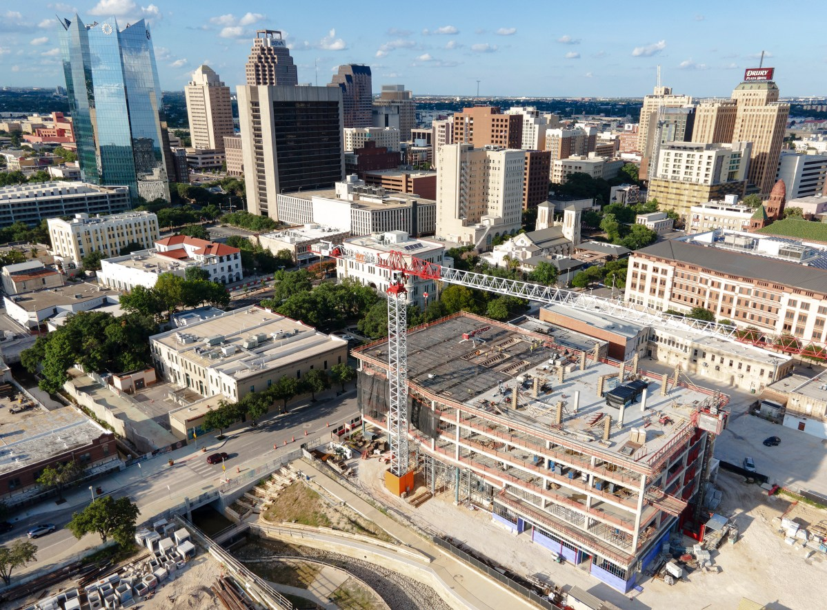 Construction continues on a slew of new developments on the western half of downtown in July. San Antonio's City Council will start to decide this month how to spend the City's $1.2 billion bond.
