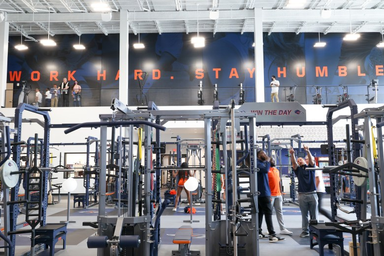 The new weight and strength facility at the Roadrunner Athletic Center of Excellence at UTSA.