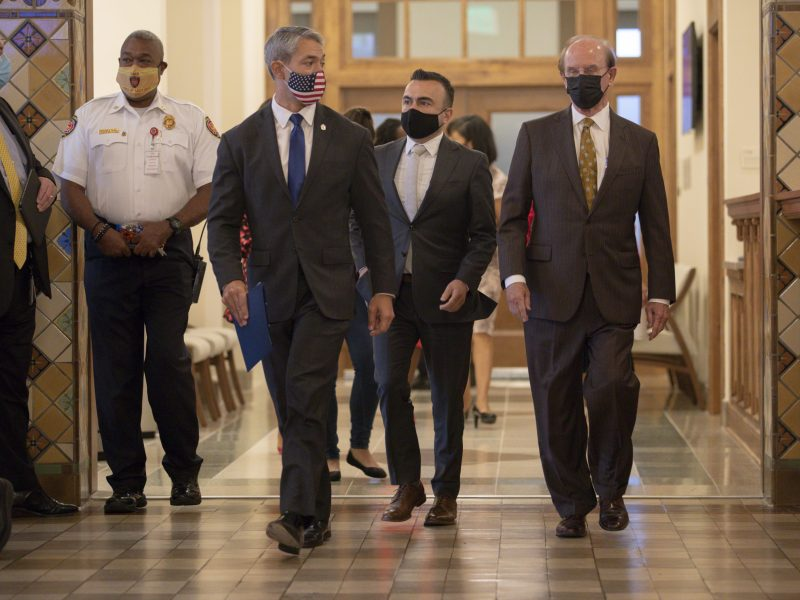 Mayor Ron Nirenberg and Judge Nelson Wolff have challenged an order by Governor Greg Abbott restricting local municipalities emergency declarations.