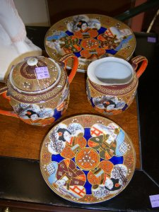 Photo of Japanese porcelain for $4.99 each.