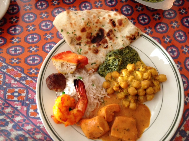 Photo of food from Simi's India Cuisine in San Antonio, Texas.