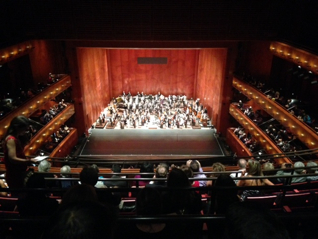 Photo of the H-E-B Performance Hall in the Tobin Center for the Performing Arts.
