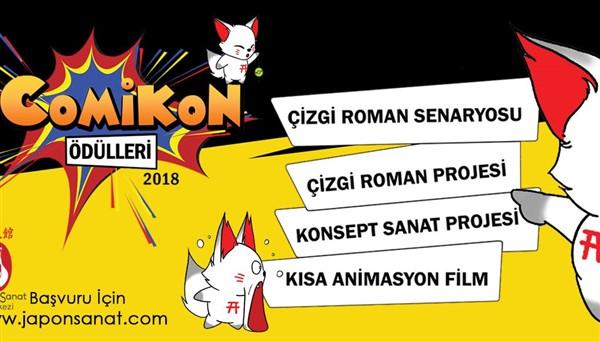 COMİKON 2018 Ödülleri Yarışması