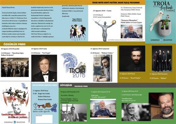 Troia Festivali programı belli oldu