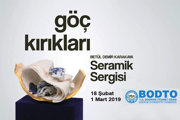 """Betül Demir Karakaya'nın """"Göç Kırıkları"""" Sergisi"""