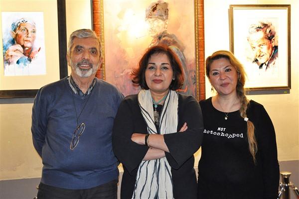 Ressam Arezou Behrang'ın Sergisi çok beğenildi