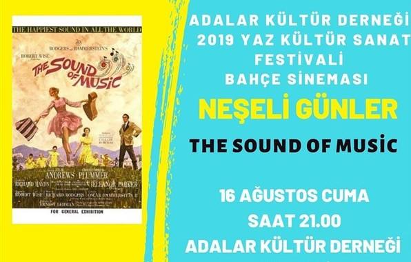 16 Ağustos 2019 CUMA Büyükada'da Sinema