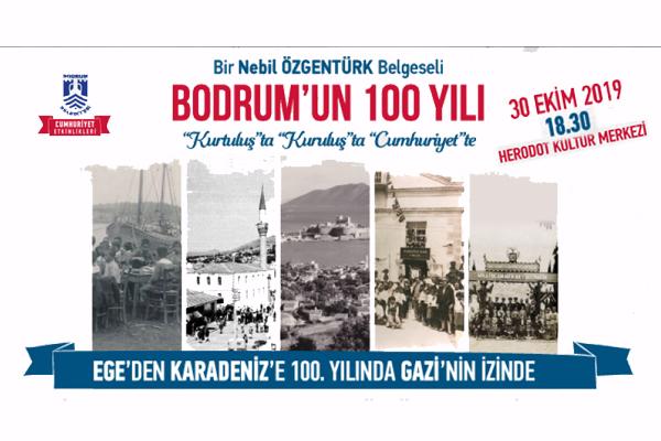 """Nebil Özgentürk'ten """"Bodrum'un 100 Yılı"""""""