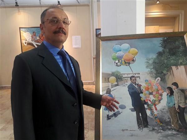 Mehmet Tevfik Utku'nun 3.Kişisel Resim Sergisi