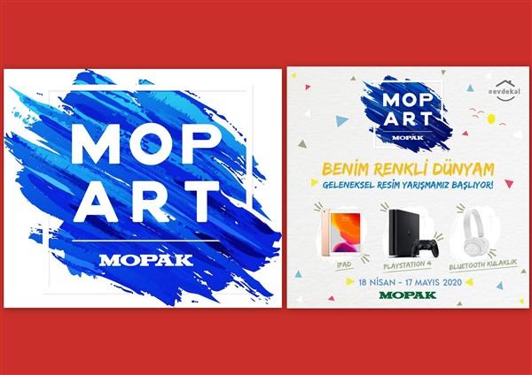 MopArt resim yarışması 17 Mayıs'ta bitecek