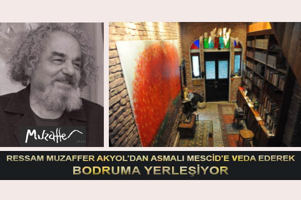 Ressam Muzaffer Akyol Bodruma Yerleşiyor