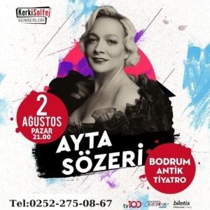 "Bodrum Antik Tiyatroda ""Ayta Sözeri"""