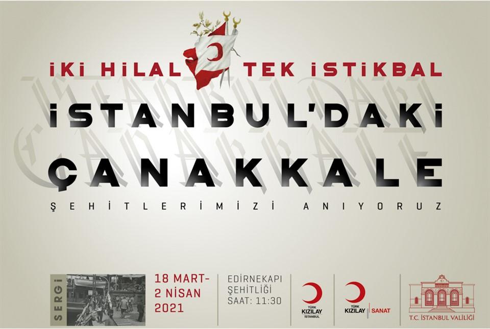 Kızılay'dan 'İstanbul'daki Çanakkale' Sergileri