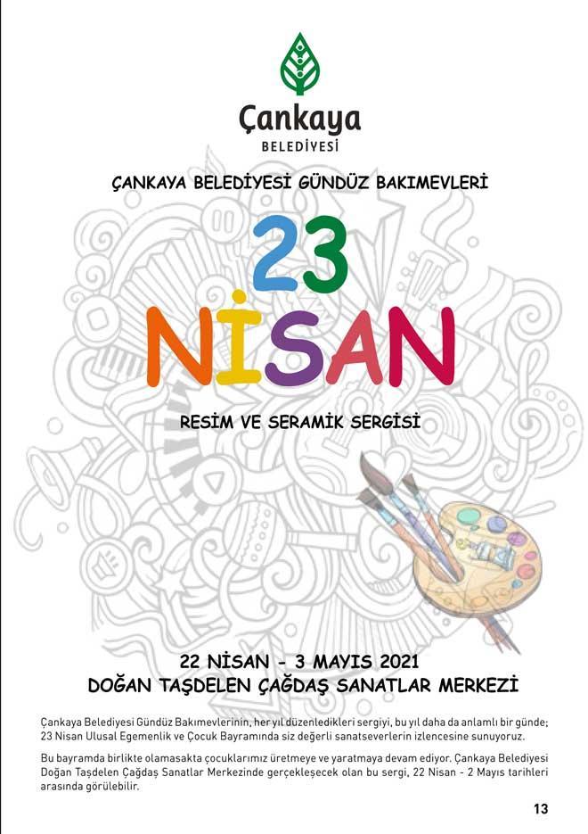 22 Nisan 2021 Perşembe Günün Sergileri