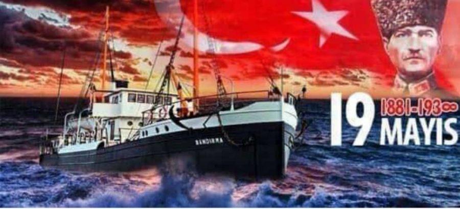 19 Mayıs 1919 Samsun'da Atatürk