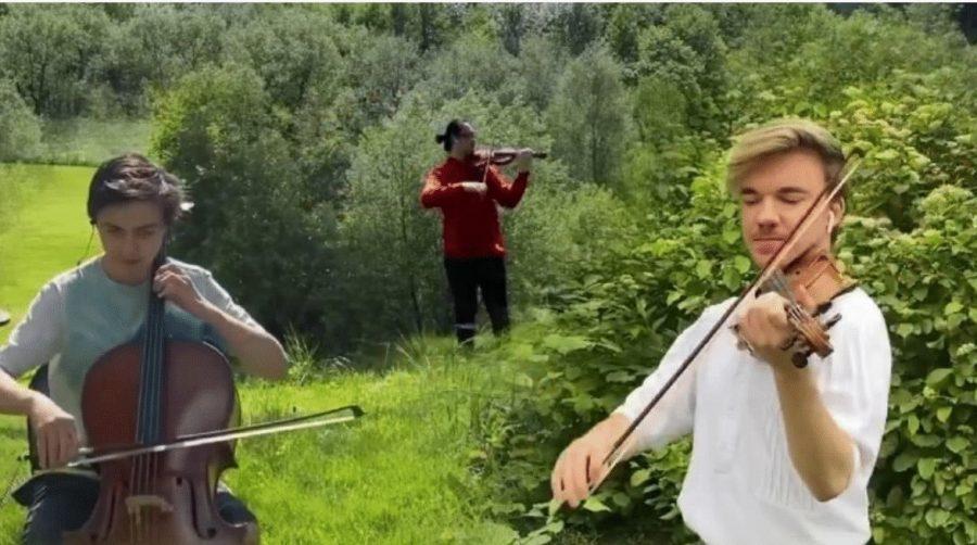"Yury Revich ""Dünya Ana""ya adadı: Green Anthem"