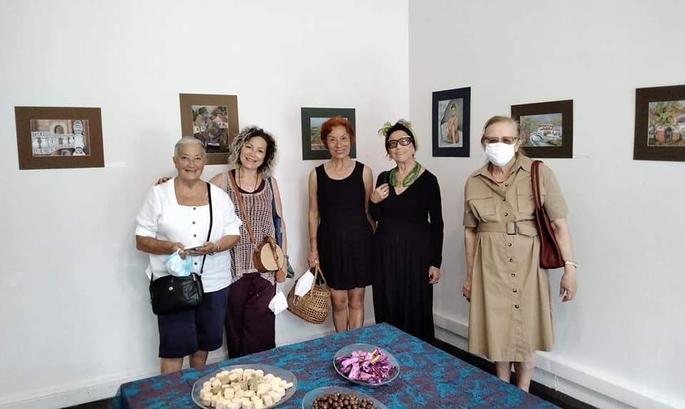 Verjin Şapçı'nın Sergisi Büyükada'da Açıldı